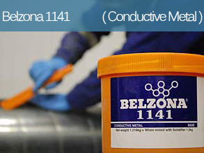 An electronically conductive epoxy repair composite for metal repair and bonding systems.