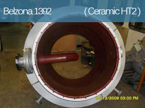 Erosion, corrosion and chemical resistant coating for high temperature equipment operating under immersion.