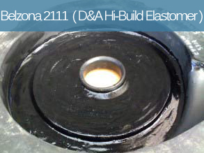 A flexible abrasion resistant polyurethane elastomer for the repair, rebuilding and coating of rubber components and metal surfaces.