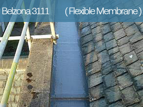 A single component, liquid applied roof coating for long-term roof protection and waterproofing.
