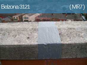 A liquid applied emergency roof repair material providing instant waterproofing of leaking roof areas.