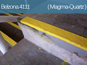 An epoxy repair composite for concrete and stone repair, resurfacing and protection.