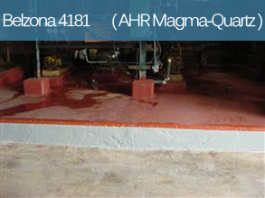 An acid and heat resistant epoxy repair composite for concrete and stone repair, resurfacing and protection.