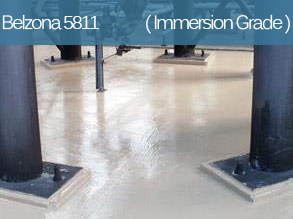 An epoxy coating designed for corrosion and chemical protection of equipment operating under immersion.