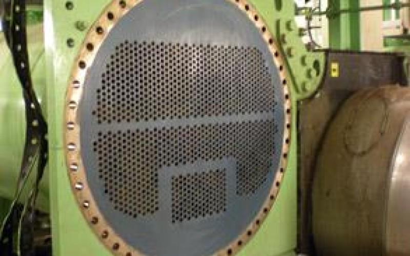 Heat exchanger repair and protection with Belzona 1321 (Ceramic S-Metal)