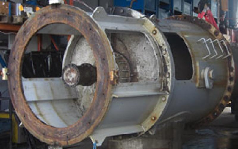 Damaged water pump